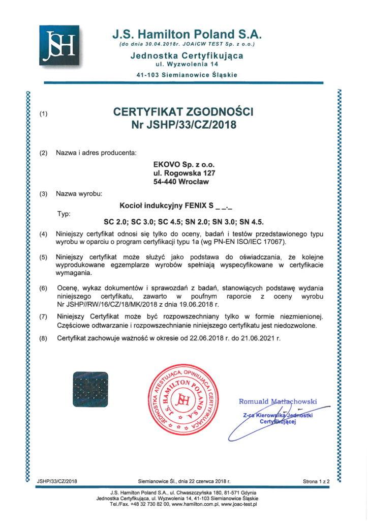 certyfikat-zgodnosci-ekovo-fenix-s