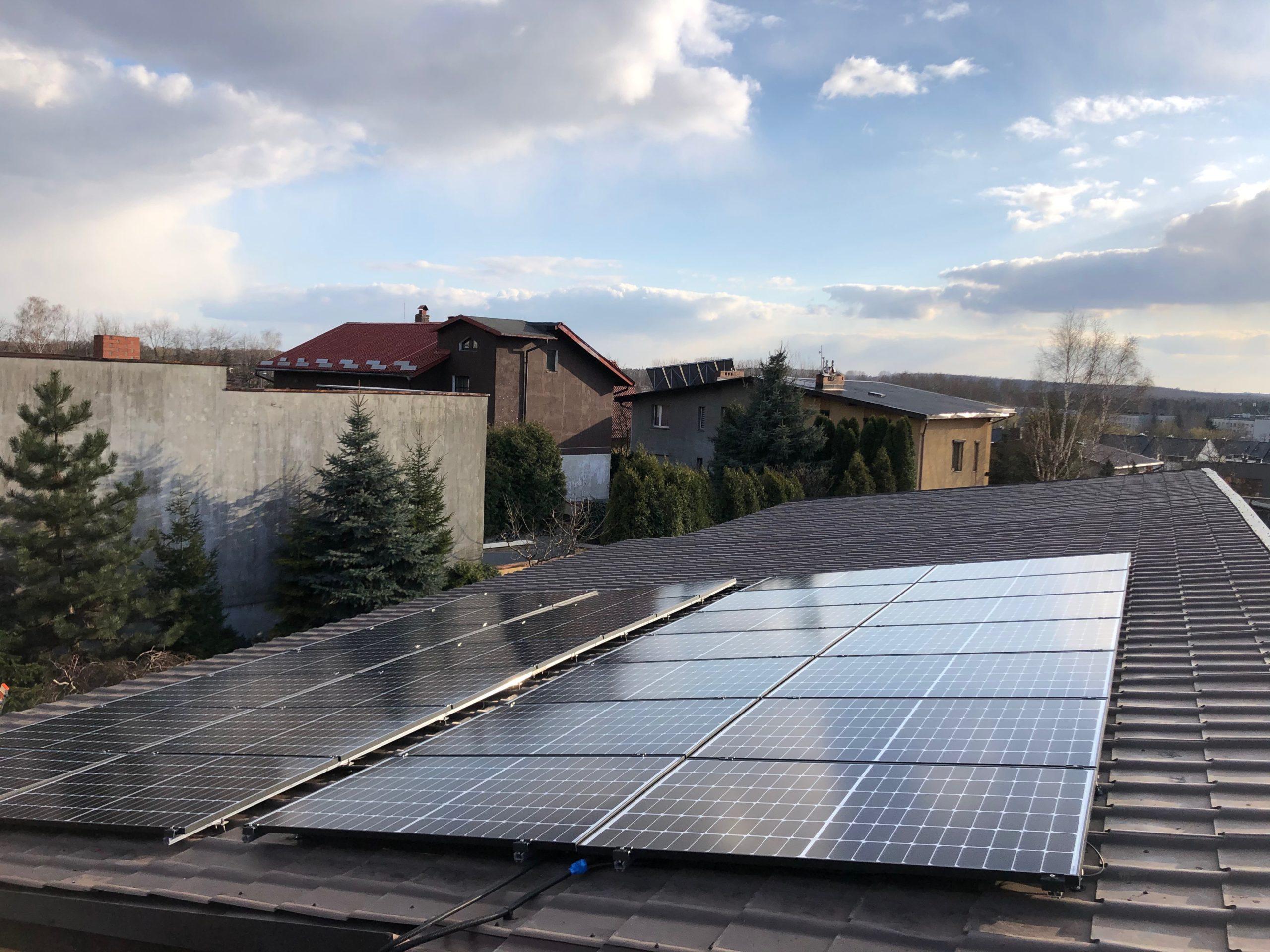 Instalacja Mysłowice 9,66 kWp